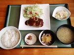「春」のハンバーグ定食