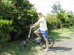Tさんと電動自転車
