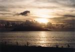 いなか浜の夕日