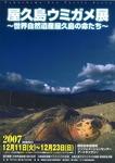 ウミガメ展ポスター