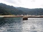 一湊の漁港