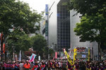 渋谷おはら祭の道玄坂会場