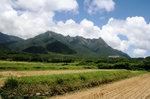 小島から望む尾之間三山