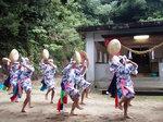 湯泊大祭笠踊り