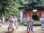 湯泊大祭棒踊り