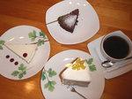 豆風庵のケーキ