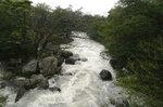 降水時の二又川