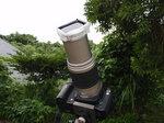 日食撮影用カメラ