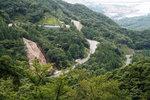 白谷峡から宮之浦を望む
