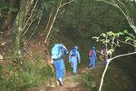白谷峡の遭難捜索隊